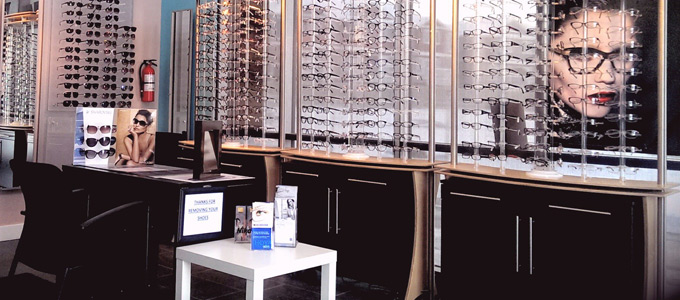 Eyewear at Oasis Eye Care Centre